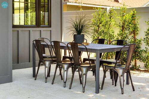 metropolis dining chairs outdoor
