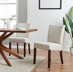 Beverly Hills Fabric Chair, Cardiff Cream