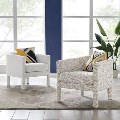 Jennifer Fabric Accent Arm Chairs