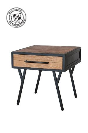 2018 Winter First Look - Salvatore End Table in Rustic Gamma
