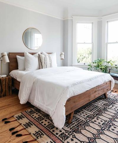 Dartford KD Queen Bed Set, Acorn Brown