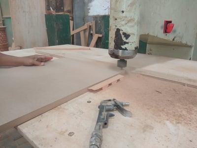 Routing Furniture Making Process