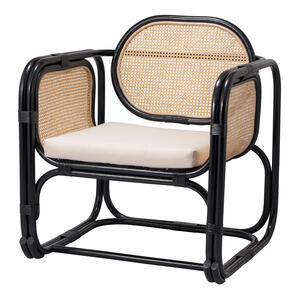 Vanessa Rattan Accent Chair