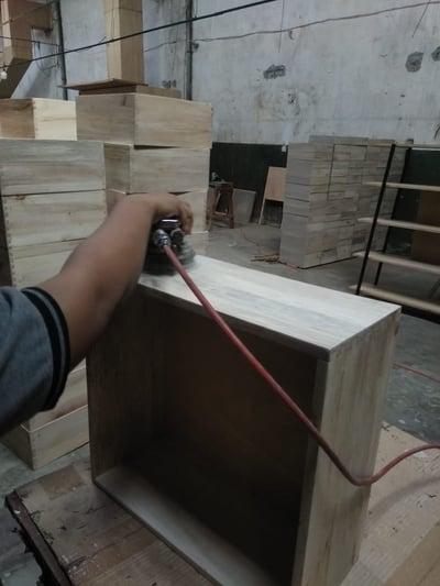 Sanding Drawer Box Furniture Making Process