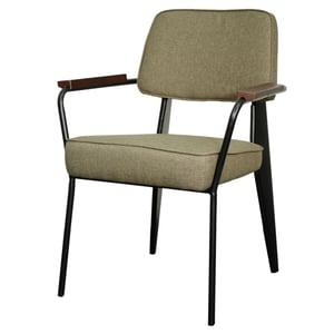 Kolten Fabric Metal Chair