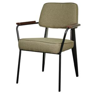 Kolten Fabric Metal Chair