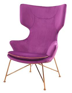 Elisa Purple Chair - NPD Furniture