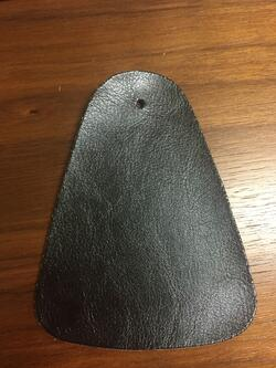 bonded Polyurethane PU leather front side